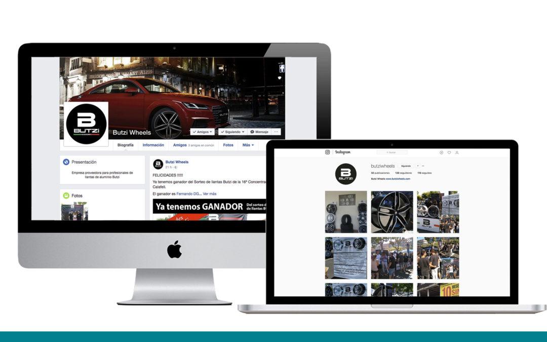 BUTZI Wheels ya se encuentra en redes sociales!